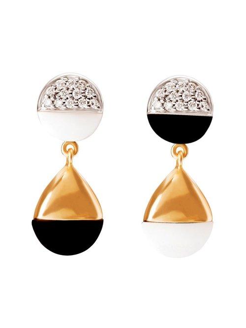 Mia by Tanishq 14KT Gold Earrings