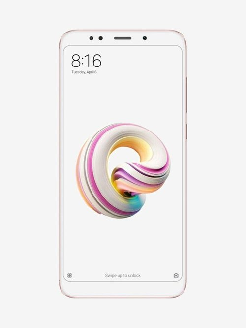 Xiaomi Redmi Note 5 64 GB (Rose Gold) 4 GB RAM, Dual SIM 4G