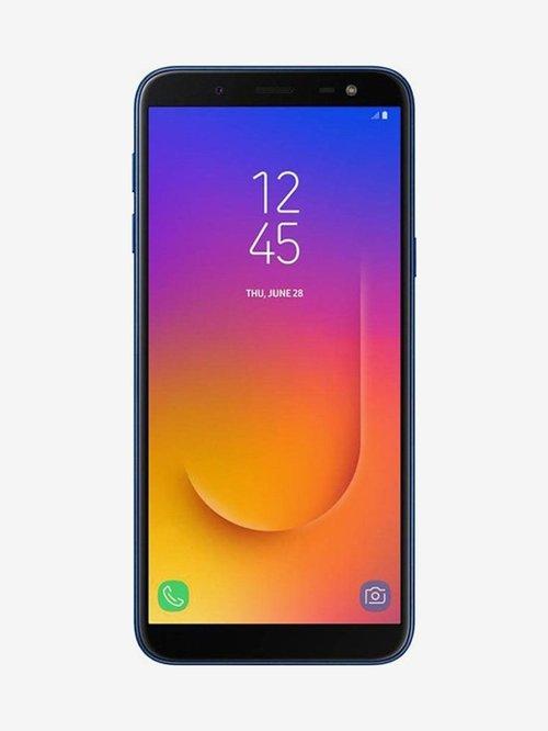 Samsung Galaxy J6 (Samsung SM-J600GZBGINS) 32GB 3GB RAM Blue Mobile