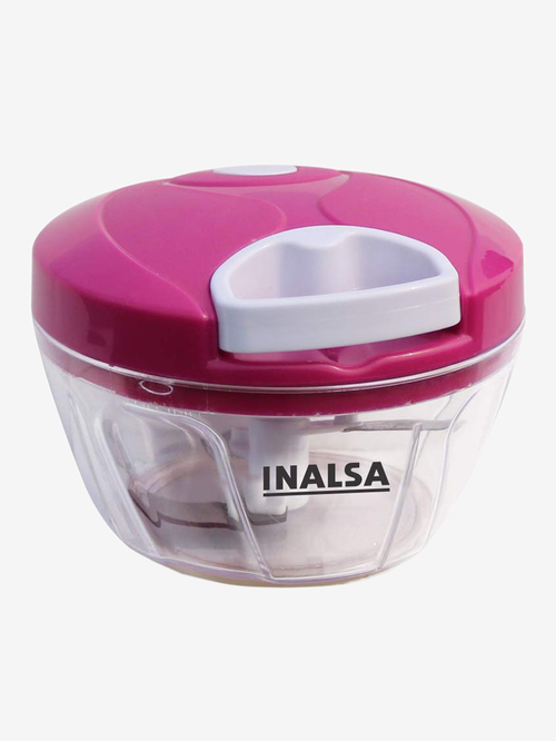 Inalsa Chop-It Vegetable & Fruit Chopper (Cherry Red/White)