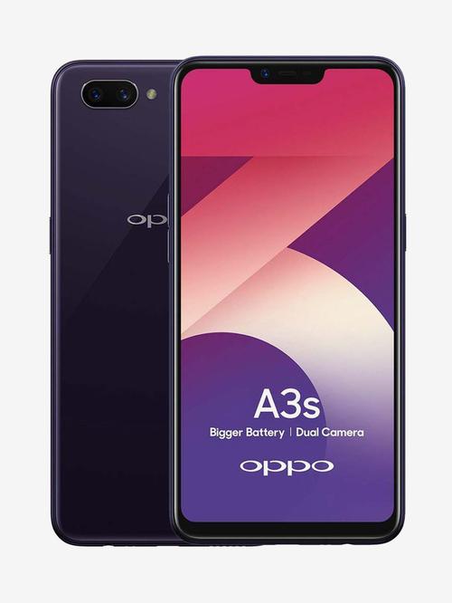 OPPO A3s (Purple, 32 GB)