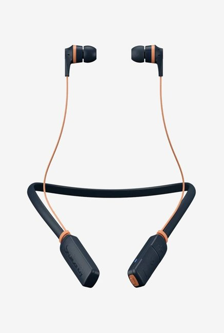 Skullcandy S2Ikw L681 Ink'D Bluetooth Wired Earphones With Mic  Sunsetblue