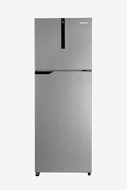 Panasonic 336 L Inverter 3 Star Frost Free Double Door Refrigerator  Silver, NR BG341VSS3