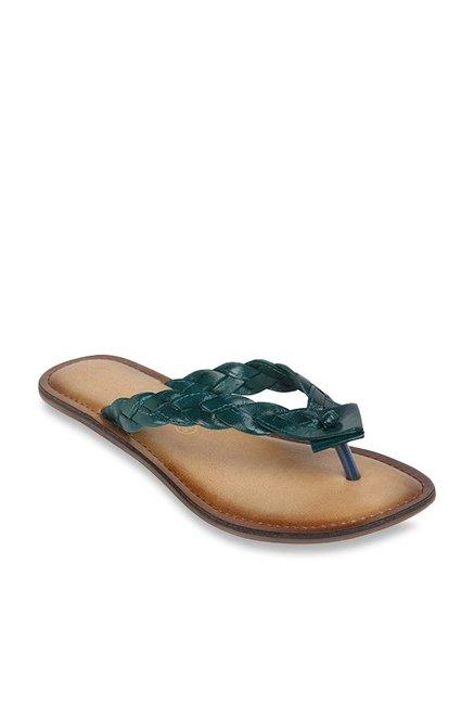 80f24908971c Buy Catwalk Green Thong Sandals for Women at Best Price   Tata CLiQ