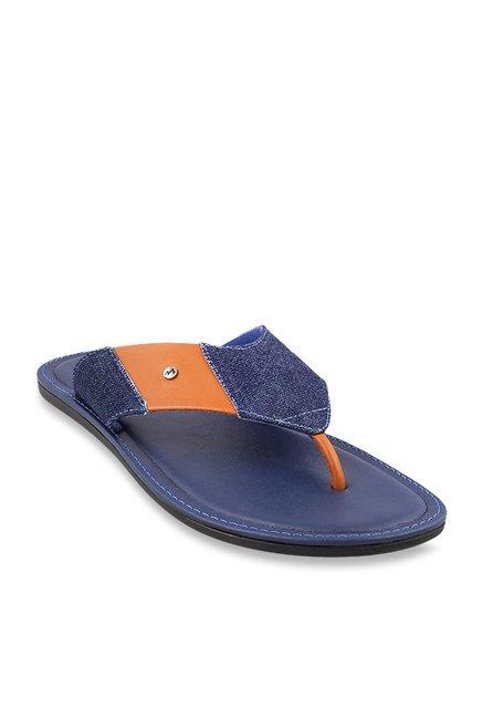 512121f6bd51 Buy Metro Blue Thong Sandals for Men at Best Price   Tata CLiQ