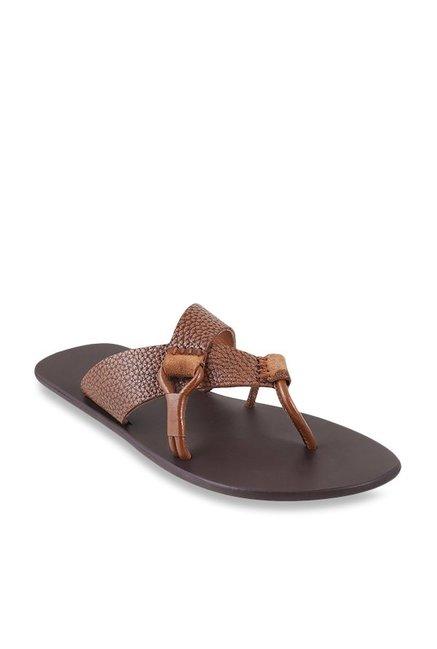 27ef4956a Buy Metro Tan Casual Sandals for Men at Best Price   Tata CLiQ