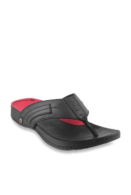 ba86c7987ca Buy J. Fontini by Mochi Black Thong Sandals for Men at Best Price   Tata  CLiQ