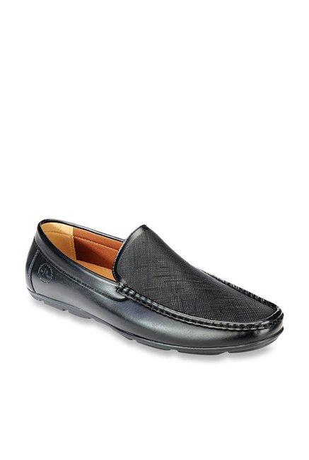 66716f396e3 Buy Pavers England Black Casual Loafers for Men at Best Price   Tata CLiQ
