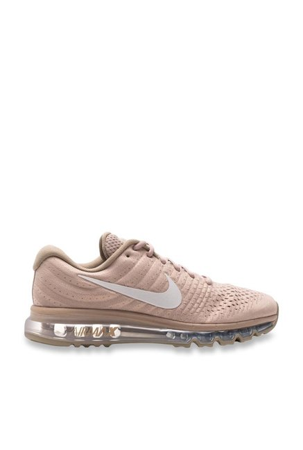 finest selection bdb90 76370 Buy Nike Air Max 2017 Sand   White Running Shoes for Men at Best Price    Tata CLiQ