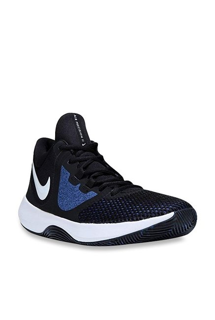 7d58408acfc9 Buy Nike Air Precision II Black Basketball Shoes for Men at Best Price    Tata CLiQ
