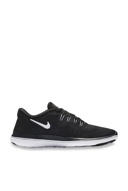 fe2c512fb781 Buy Nike Flex 2017 RN Black   White Running Shoes for Women at Best Price    Tata CLiQ