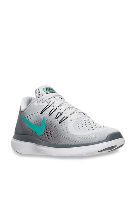 83b26b3e95fd2 Buy Nike Flex 2017 RN Pure Platinum Running Shoes for Women at Best Price    Tata CLiQ
