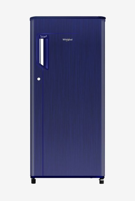 Whirlpool 205 IMPWCOOL PRM 190 L 3 Star Direct Cool Single Door Refrigerator  Sapphire Titanium