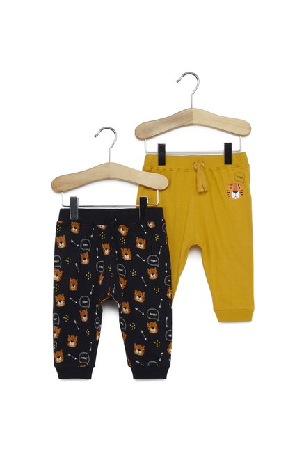 e3b517a56250 Buy Baby HOP by Westside Navy Pants Set Of Two for Infant Boys Clothing  Online @ Tata CLiQ