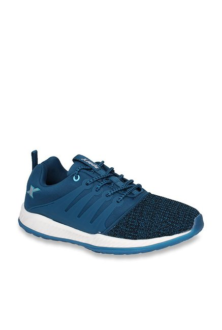Buy Sparx Turkey Blue Running Shoes for