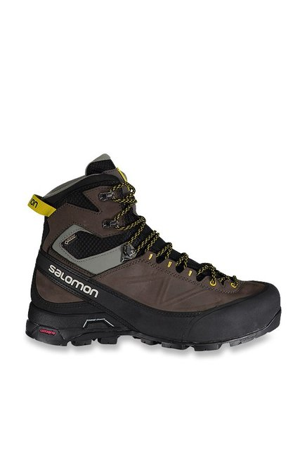13c08c9d9b0 Buy Salomon X ALP MTN GTX Black & Brown Hiking Shoes for Men at Best Price  @ Tata CLiQ