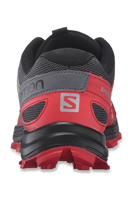 premium selection 04592 77932 Buy Salomon Speedtrak Trail Black & Grey Running Shoes for ...