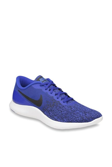 5662eb8d533 Buy Nike Flex Contact Blue Running Shoes for Men at Best Price   Tata CLiQ