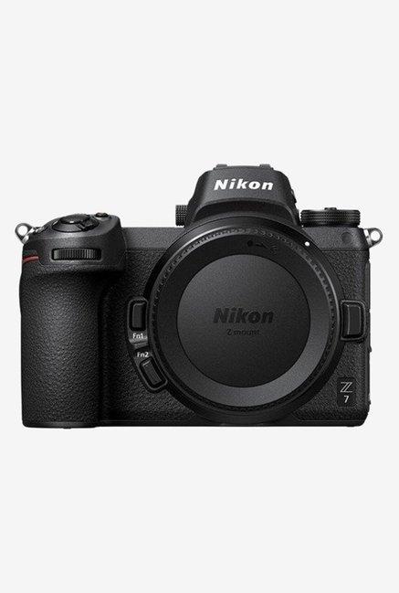 Nikon Z7  Body Only  Mirrorless Camera with 64 GB XQD Card   Jealiot Runner 0704 Bag  Black  Nikon Electronics TATA CLIQ