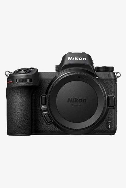 Nikon Z6  Body Only  FX Format Mirrorless Camera with 32 GB XQD card and Carry Case  Black