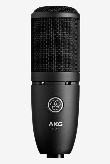 AKG P120 High Performance General Purpose Recording Microphone  Black Online Shopping Site in India   Upto 60% Off On Mobiles, Electronics   Fashion a