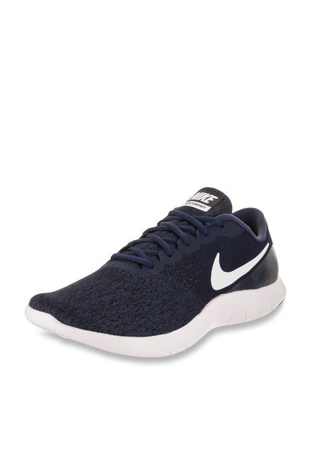 18507fd839be Buy Nike Flex Contact Midnight Navy Running Shoes for Men at Best Price   Tata  CLiQ