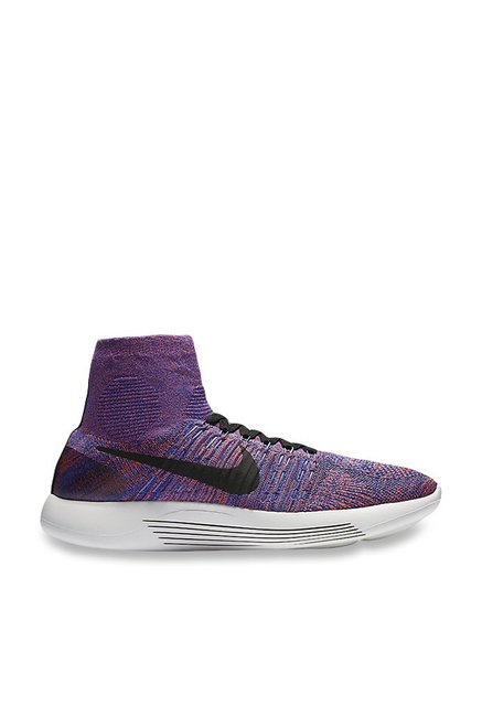 outlet store 32221 b1b50 Buy Nike Lunarepic Flyknit Purple Running Shoes for Men at ...