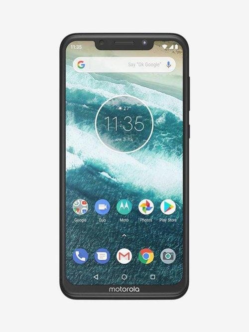 Motorola One Power 64 GB (Black) 4 GB RAM, Dual SIM 4G
