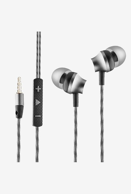 Ambrane EP-60 Wired Earphones with Mic (Black)