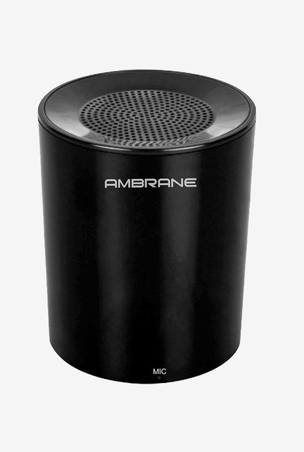 Ambrane BT-1200 3 Watts Wireless Portable Bluetooth Speaker (Black)
