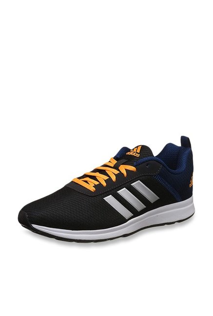 new product bacf9 62b81 Buy Adidas Adispree 3 Black  Blue Running Shoes for Men at Best Price   Tata CLiQ