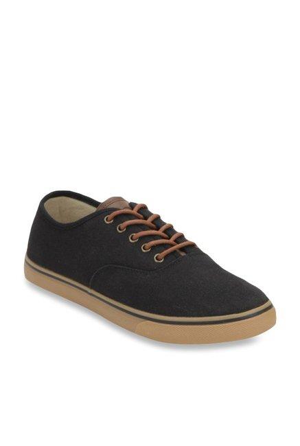 Benetton Black Casual Sneakers