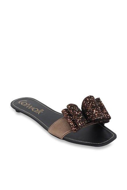 5e40c36684 Buy Catwalk Bronze Casual Sandals for Women at Best Price @ Tata CLiQ