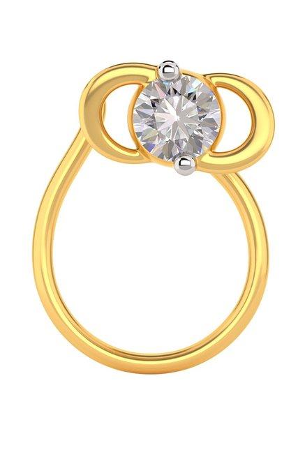 Buy Joyalukkas 18 Kt Gold Diamond Nosepin Online At Best Price