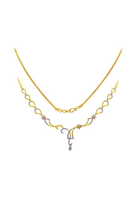 Joyalukkas 18 Kt Gold Diamond Necklace