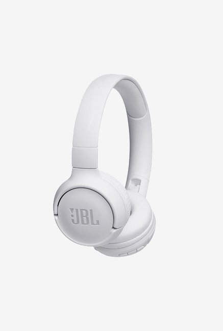 f2052708527 Buy JBL T500BT Wireless On-Ear Headphones with Mic (White) Online At Best  Price @ Tata CLiQ