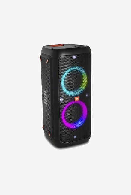 JBL PartyBox 300 Wireless Party Speaker with Vivid Light Effects (Black)