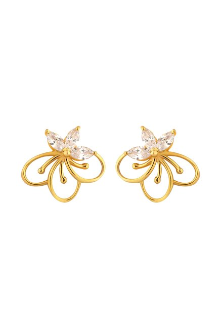 3e468dcba Buy Joyalukkas 22 kt Gold Earrings Online At Best Price @ Tata CLiQ