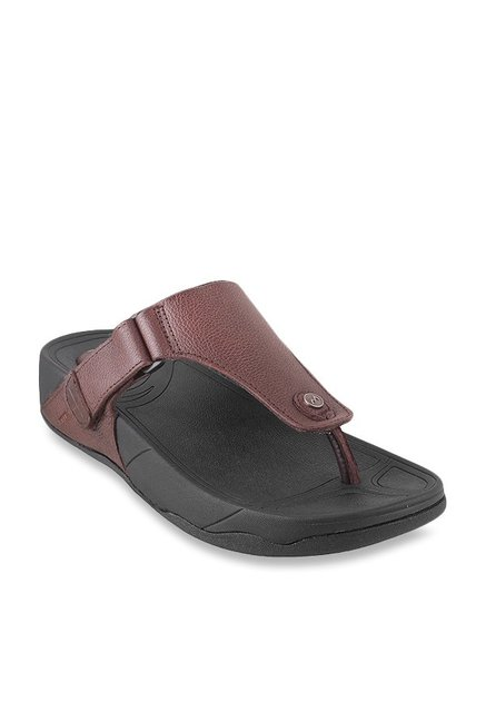 55ab26eb3ff3 Buy Metro Brown Thong Sandals for Men at Best Price @ Tata CLiQ