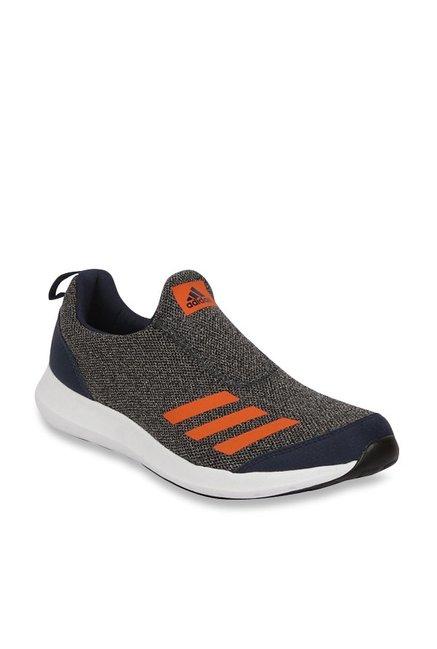 Buy Adidas Grey \u0026 Orange Running Shoes