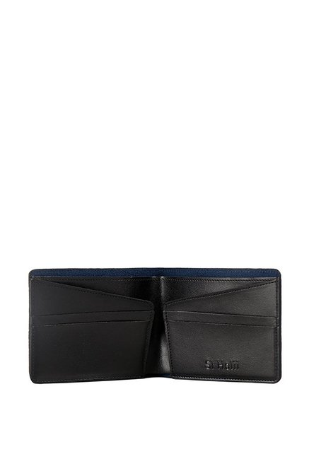 3877b7555b5 Buy St.Holii by Holii Saguaro W2 Navy Solid Bi-fold Wallet For Men ...