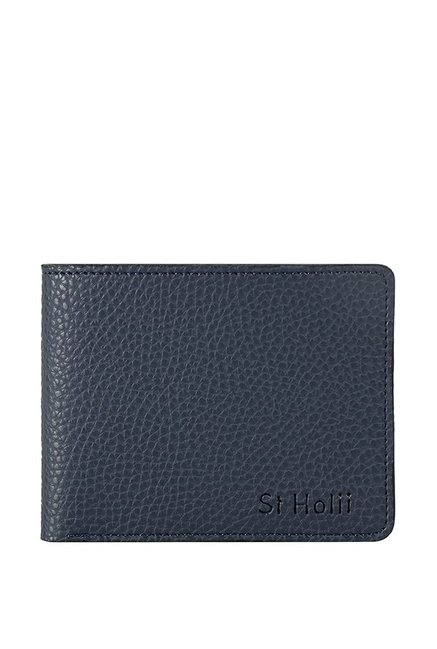 19987a4ef19 Buy St.Holii by Holii Saguaro W2 Navy Solid Bi-fold Wallet For Men At Best  Price   Tata CLiQ