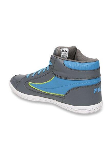 Buy Fila Streetmate III Grey \u0026 Blue