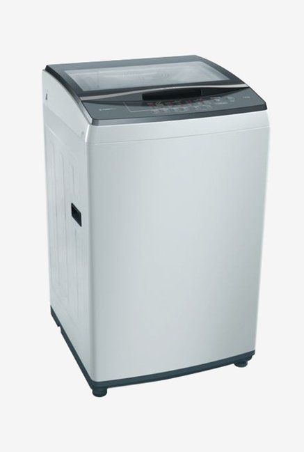 Bosch 7 kg Fully Automatic Top Load Washing Machine  WOE704Y1IN,Silver