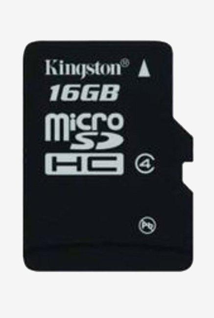 Kingston SDC4/16 GB 16  GB Class 4 Micro SDHC Memory Card  Black