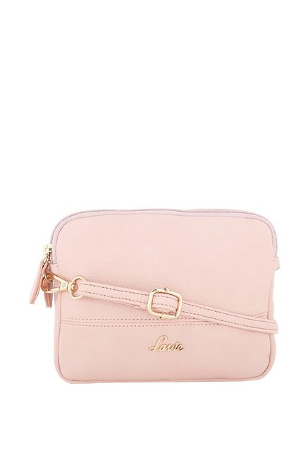 1fe76952fba Buy Lavie Pink Solid Sling Bag For Women At Best Price   Tata CLiQ