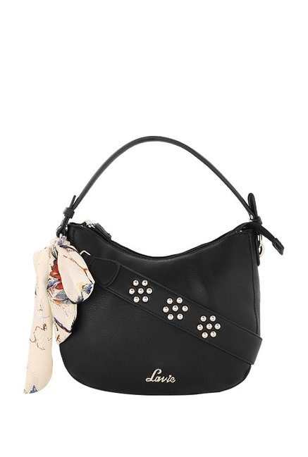 c49f3a7bad Buy Lavie Black Solid Hobo Handbag For Women At Best Price ...