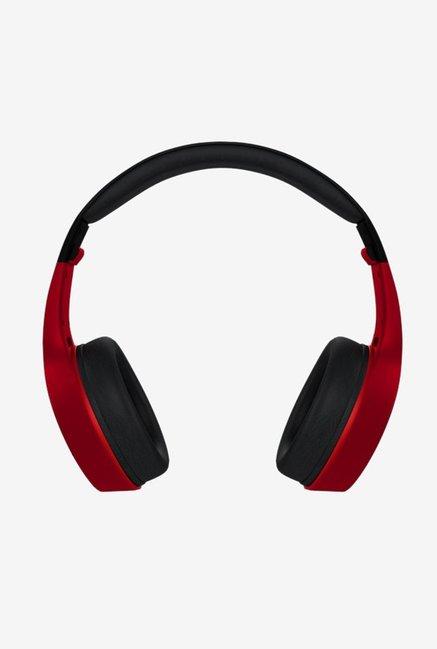 Molife Groove BTHP01 Over The Ear Wireless Bluetooth Headphones  BlackRed
