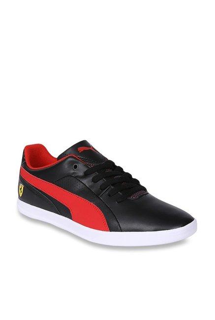 947ca36c8f3 Buy Puma Ferrari SF Selezione Black   Rosso Corsa Sneakers for Men at Best  Price   Tata CLiQ