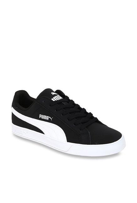 more photos ae98e 1bef0 Buy Puma Smash Vulc Black Sneakers for Men at Best Price ...
